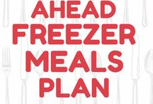 Make ahead freezer meal plans
