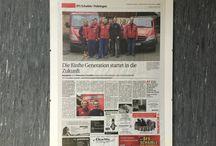 Presse / Presseberichte über unseren Betrieb