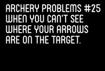 the struggles of an archer