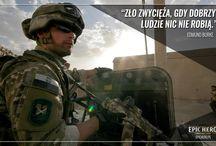 Wojskowe motywatory - EPIC HERO