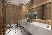 Office restroom design