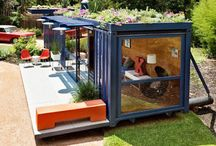 Container buildings / by Pete Favat