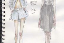 Art: Fashion Illustrations