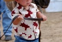 niños vaqueros