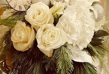 новый год цветы