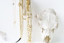 Jewellery storage  / Creative, pretty or unusual ways to hang or store your jewellery