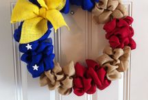 Fourth of July Wreaths / by Melissa Viller
