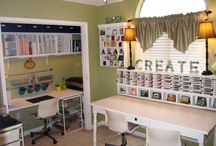 For the office/craft room / by Leah Looney