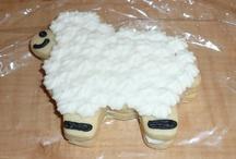 Lamb cookies.