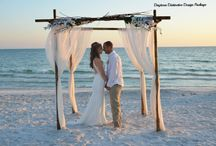 Siesta Key Beach Weddings / Siesta Key, Florida beach weddings are a great spot for a destination wedding. With white sand, clear water and beautiful sunsets you can't go wrong! Take the stress away and get married with www.siestakeyweddings.com