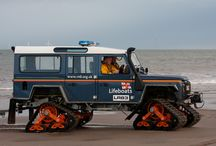Search and Rescue Vehicles / Vehicles, not just Land Rovers, used by search and recsue organisations