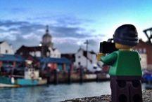 Lego travelers / Un photographe passionné de Lego fait le tour du monde. Ca donne ça. #awesome #lego.