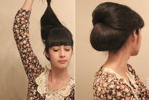 KRISTINA J. Hair!