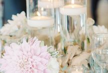 Driftwood Centrepieces/wedding