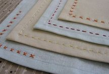 Fancy linen napkins