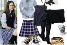 Rory Gilmore clothes / Fashion by Rory Gilmore
