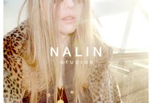 "Nalin Studios, Snapshots Jeanne Necklace / Nalin Studios, Snapshots for the ""Jeanne Coin Necklace"" Campaign. Photography: Anna Lindeman, Model: Kamille van Lieburg"