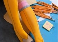 SOCK IT TO ME / Fashion, fun, and style with socks / by Bellevue University Library
