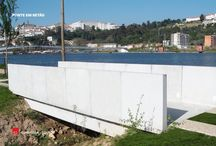 Obra Piscinas de Coimbra l Project Coimbra Pools / produtos de betão  -- concrete products