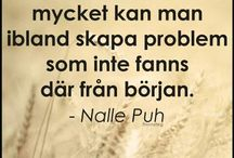 Winnie the pooh quotes swe/eng