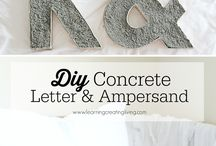 DIY Concrete / Concrete use is limitless. Build with durability. Build with the most resilient building materials in the world. Build with concrete.  / by Lehigh Hanson