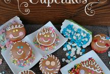 Gingerbread Boys and Girls Cupcakes