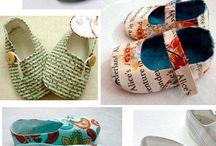patrones zapatillas