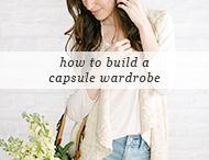 capsule closet / by Nicole Conner
