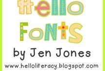 Fonts / by Kristen Brewer Raxter