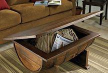 Barrel Furniture / by Ken Troedel