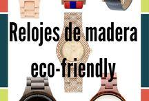Relojes eco-friendly