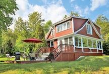 Chalets au Québec - Cottages Quebec / Locations de Vacances au Québec - Vacation Rentals in Quebec