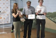 """Pay it forward Graduation! / Pictures from the graduation ceremony of our """"Pay it Forward"""" Program which trains shelter dogs for free to make them more adoptable! :)"""