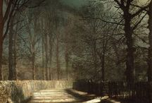 John  Atkinson Grimshaw (1836 - 1893) / John Atkinson Grimshaw (6 September 1836 – 13 October 1893) was an English Victorian-era artist known for his breathtaking city night-scenes and landscapes. He is considered one of the most renowned painters of the Victorian era, as well as one of the best and most accomplished nightscape, and townscape, artists of all time.
