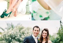 Wedding trends ~ emerald