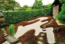 Jardin seco. Jardín zen