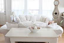 l love white homes