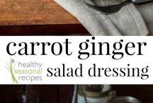 Recipes: Sauce, salad dressing, dip