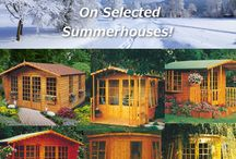 Ideas for the Garden / Nice summerhouses, sheds and cabins for the garden.