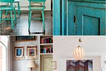 Colour inspiration - blue hues
