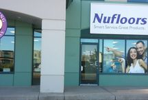 Nufloors Sherwood Park Store / We are focused on making your floor covering purchase and installation more efficient, valuable and inspirational than ever before. Come visit Us!