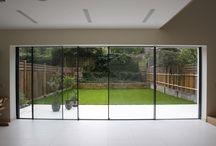 Vinduer, glass, terrassedører