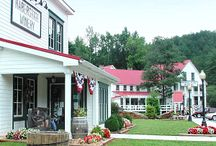 Nacoochee Village / These are all the wonderful businesses in Nacoochee Village, Helen, GA. Nacoochee Village is a only about 2 blocks long and has an array of fantastic little shops as well as great places to eat!