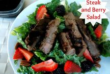 Recipes-Salads / by Danielle D