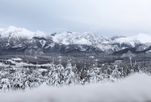 Tatra Mountains in the winter