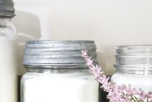 candles and  diy