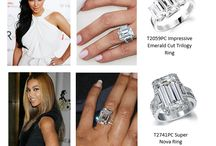 """Saying """"I Do"""" in Style / Some of our favourite celebrity engagement rings and some picks from the Tru-Diamonds collection"""