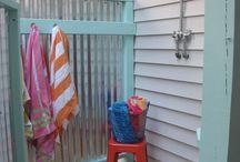 Shower outdoor