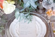 wedding TABLE. / by Carmen and Ingo Photography
