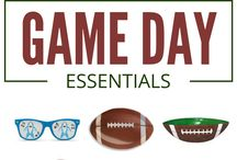 Game Day Essentials / Don't limit yourself to only the Super Bowl. Make all sporting events super with recipes, party decor ideas and creativity!